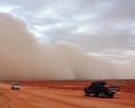 Dust storm, central Australia